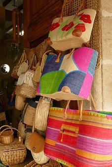 Bag, Basket, Messages, Weaving, Knots, Rattan, Reed