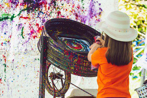 Art, Spinning, Twirl, Color, Colorful, Pattern, Artwork