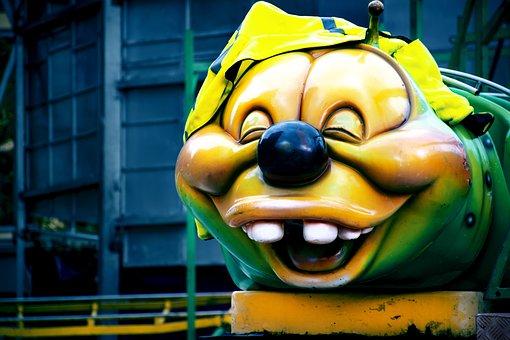 Stories, A Roller Coaster Ride, Tivoli, Larva