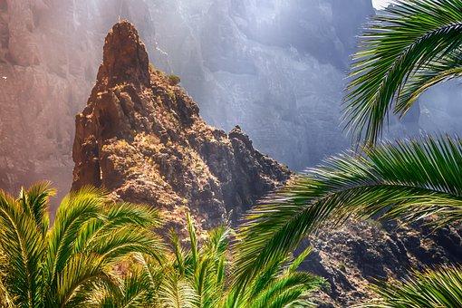 Masca, Tenerife, Canary Islands, Masca Ravine, Rock