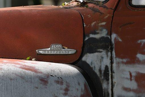 Truck, Antique, Vehicle, Abandoned, Automobile, Aged