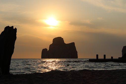 Sardinia, Sea, Beach, Summer, Holiday, Water, Costa