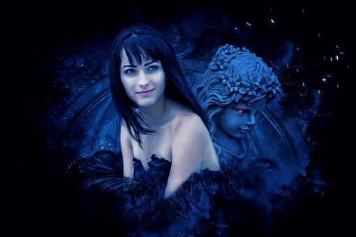 Fantasy, Dark, Gothic, Female, Woman, Girl, Young