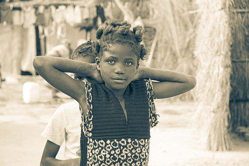 Happy, Shy, Girl, Female, Child, Young, Adorable