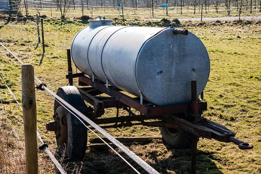 Water Tank, Tank, Water, Tank Wagon, Agriculture