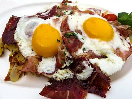 Egg, Bacon, Breakfast, Good Morning, Eat, Food