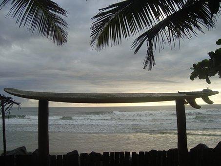 Surf, Islets, Bahia, Brazil, North, Litoral, Mar, Beach