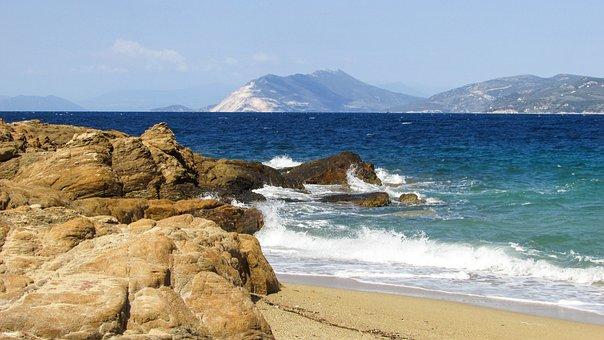 Greece, Skiathos, Spartacus, Mikri Banana, Beach