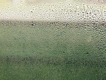 Window, Rain, Raindrop, Drip, Wet, Glass, Beaded, Water