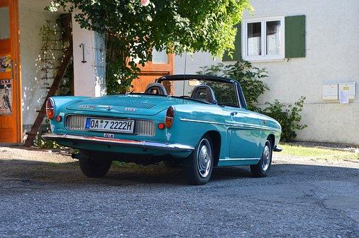 Oldtimer, Automobile, Renault, Caravelle, Auto