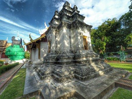 Measure, Chiang Mai Thailand, Sathup, Wat Phra Singh