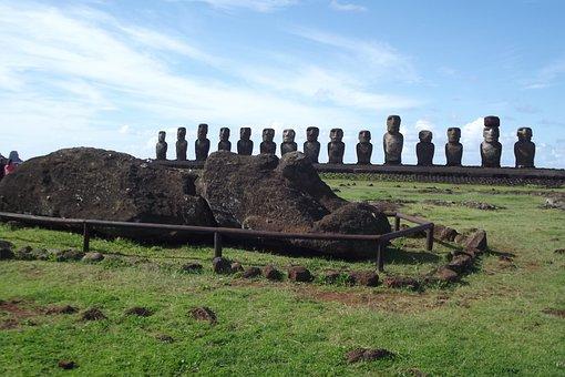 Easter Island, Rapa Nui, Moai, Chile