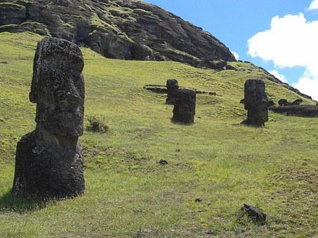 Rapa, Nui, Easter Island, Rapa Nui, Chile, Moai