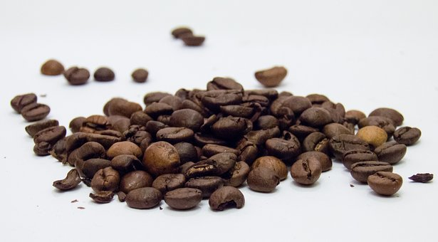 Coffee, Grains, Coffee Beans, Brown, Time For Coffee