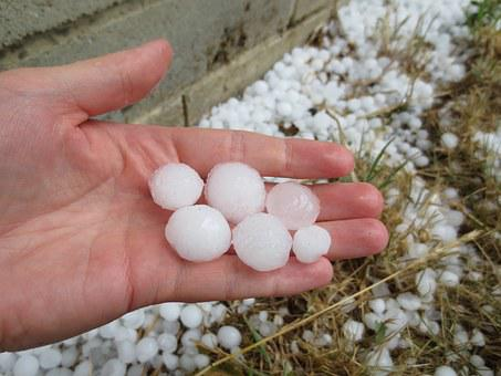 Hail, Hailstones, Weather, Ice, Storm, Cold, Summer
