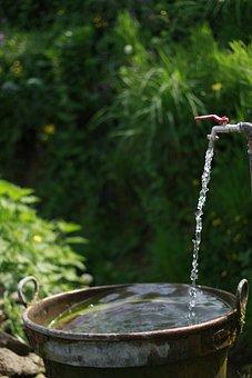 Pipe, Water, Plumbing, Industrial, Construction, Metal