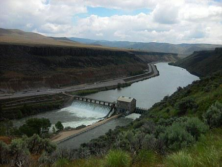 Dam, River, Environment, Electricity, Hydroelectric