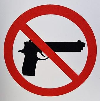 Gun Control, Gun Laws, Sign, Restrictions, Ban, Illegal