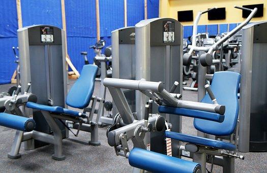 Gym Room, Fitness, Sport, Equipment, Treadmill