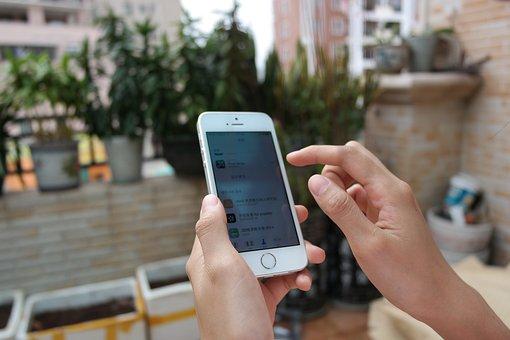 Mobile, Iphone, Apple, 5s, Girl, Hand, Ios, Honeycomb
