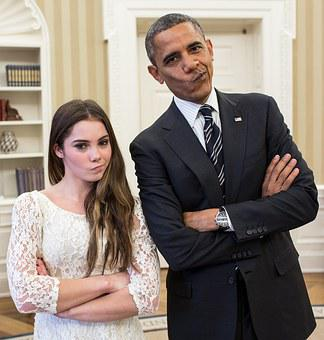 Barack Obama Mimics Mckayla Maroney, Humor, Joke