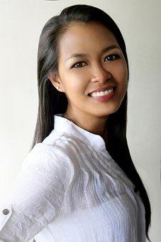 Pretty Girl, Instead, Lady, Thailand Language, Image
