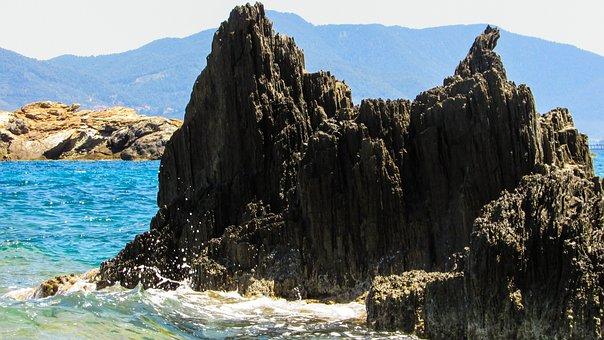 Greece, Skiathos, Rock, Sea, Island, Greek, Sporades