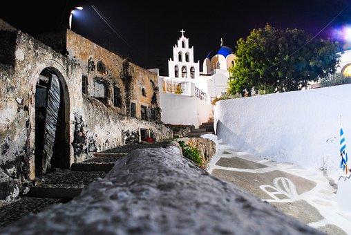 Island, Santorini, Vacation, Greece, Travel, Summer