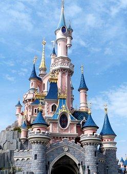 Disneyland, Castle, Belle Au Bois Dormant, Leisure Park