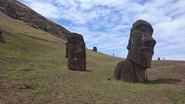 Moai Statues, Moai, Easter Island