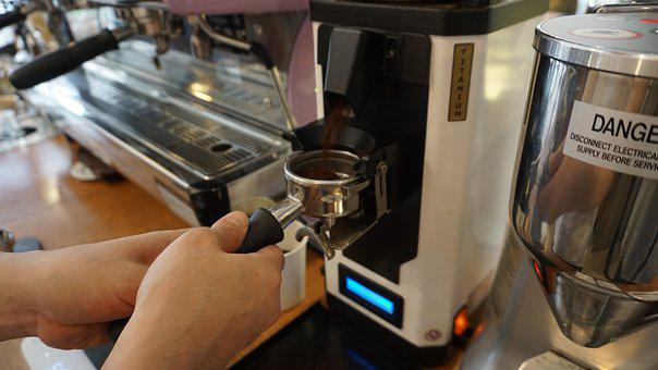 Grinder, Cafe, Coffee, Bean, Machine, Natural