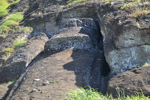 Rapa, Nui, Easter Island, Moai