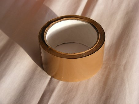 Adhesive, Brown, Buff, Packaging, Polyproylene, Tape
