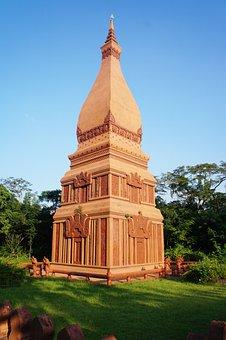 Pagoda, Phathot's Picture, Measure, Phra Tha Tu