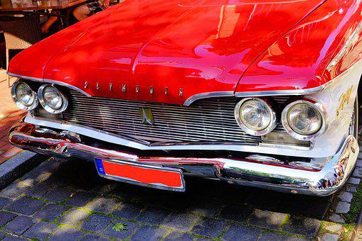 Auto, Oldtimer, Plymouth, Classic, Automotive