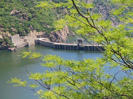 Cahora, Bassa, Power Station, Dam, Hydro, Water, Power