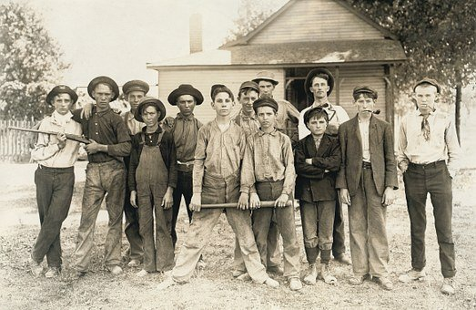 Rascals, Guys, Mob, Whipping Boy, Children, Group