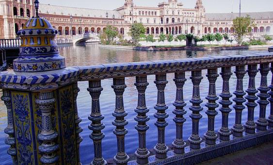 Andalusia, Seville, Palace, Instead Of Spain