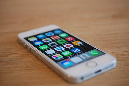 Iphone, Apps, Telephone, White, Iphone 5s, To Call, App