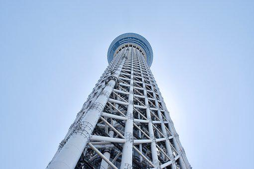 Tv Tower, Architecture, Japan