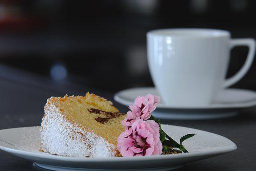 Cake, Bake, Coffee, Food, Sweet, Delicious, Eat, Baked