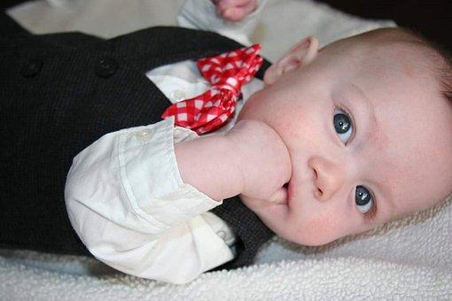 Baby, Baby Boy, Baby Bowtie, Cute, Child, Boy, Children