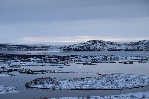 Ice, Lake, Snow, Nature, Landscape