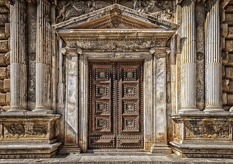 Goal, Gate, Input, Old, Historically, Portal, Door