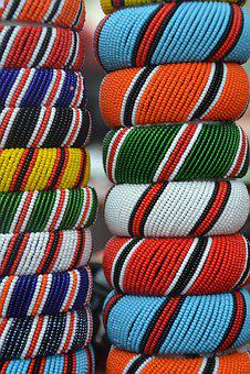 Massai, Jewellery, Africa, Tradition, Culture, Festival