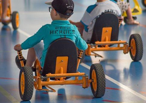 Children's Games, Race, Karting, Drivers