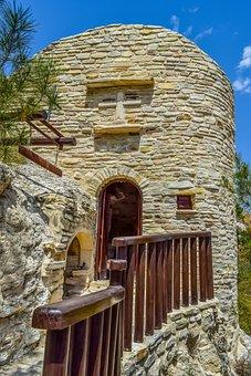 Cyprus, Kelia, Chapel, Orthodox, Stone Built, Cave