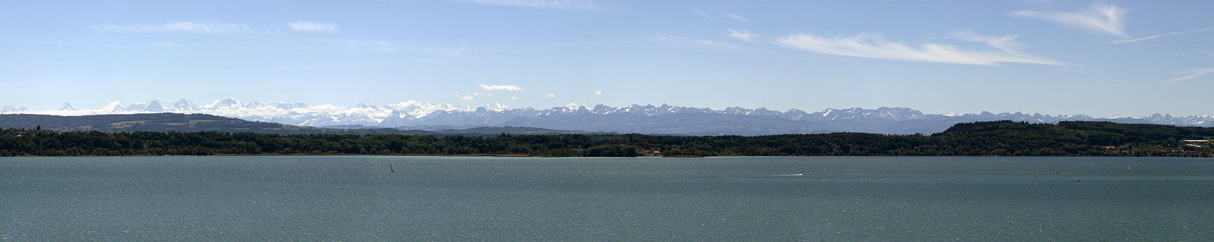 Alpine Panorama, Alpine, Lake Biel, Landscape