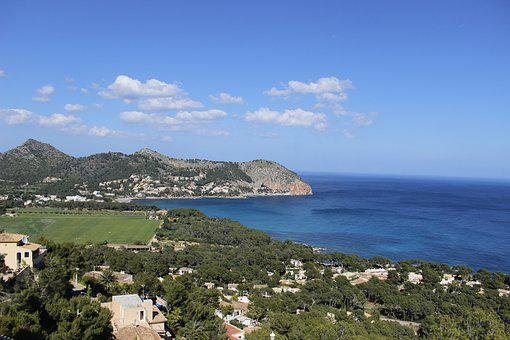 Mallorca, Bay, Mediterranean, Canyamel, Sea