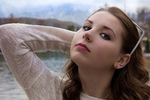 Girl, Portrait, Person, Hair, Beauty, Eyes, Model, Man